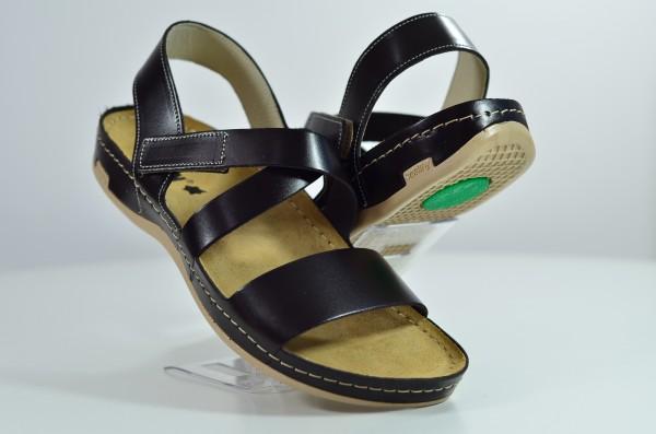 Sandale ortopedice pentru barbati Leon 710 Maro-inchis