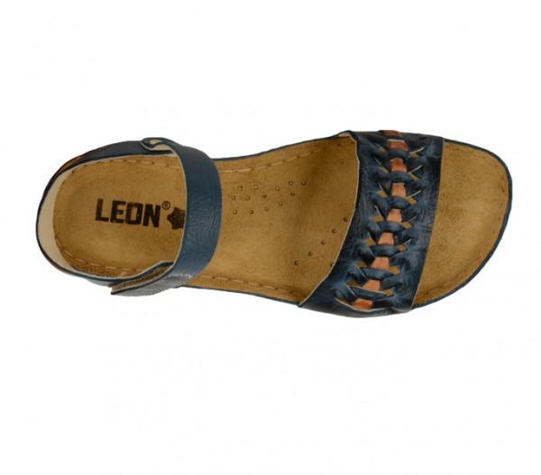 Sandale ortopedice pentru dame Leon 964 Albastru