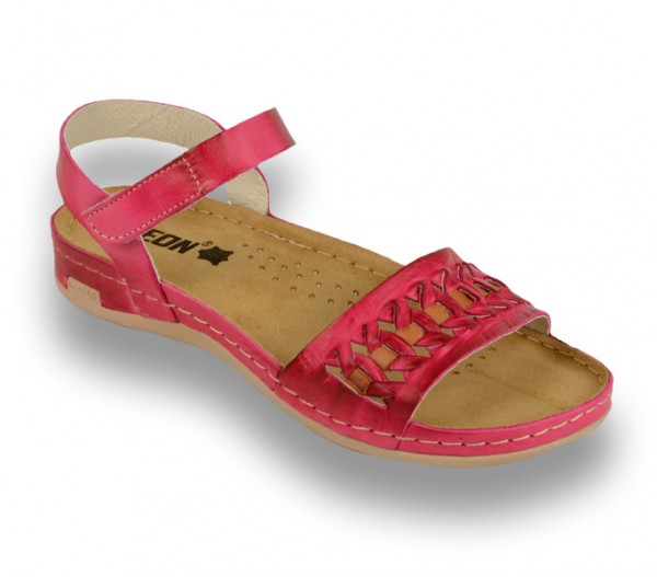 Sandale ortopedice pentru dame Leon 964 Roz