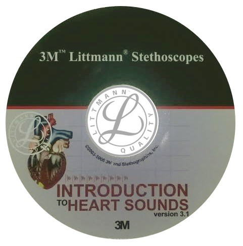 CD 3M Littmann - Introducere in sunetele inimii