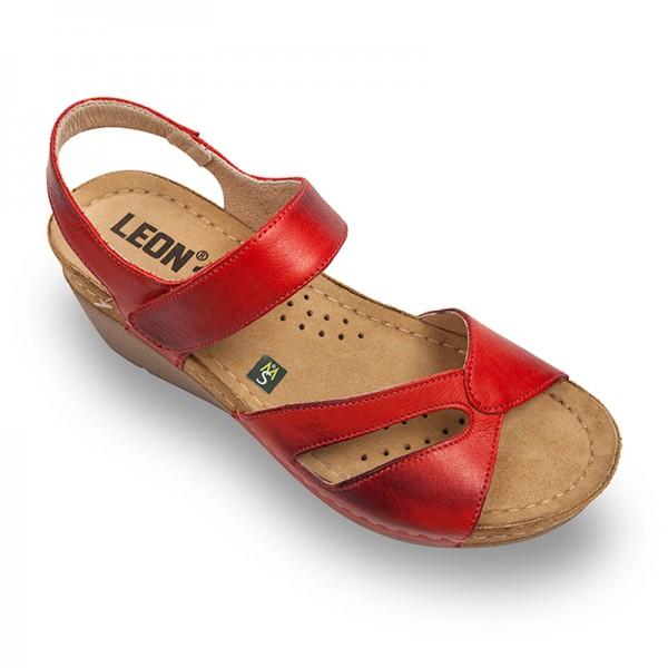 Sandale Leon 1056 de Dama – Rosu