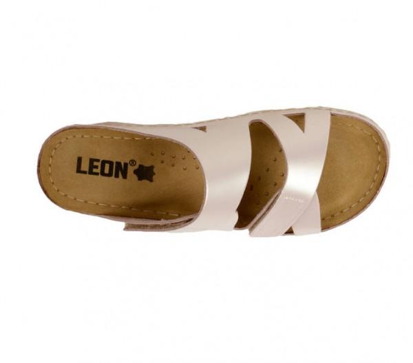 Saboti ortopedici deschisi pentru dame Leon 906 Perla