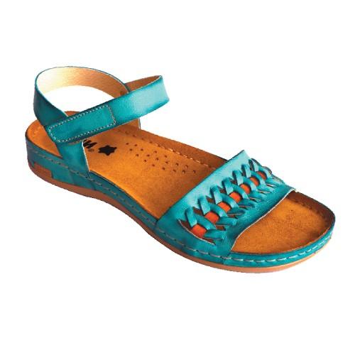 Sandale ortopedice pentru dame Leon 964 Turcoaz