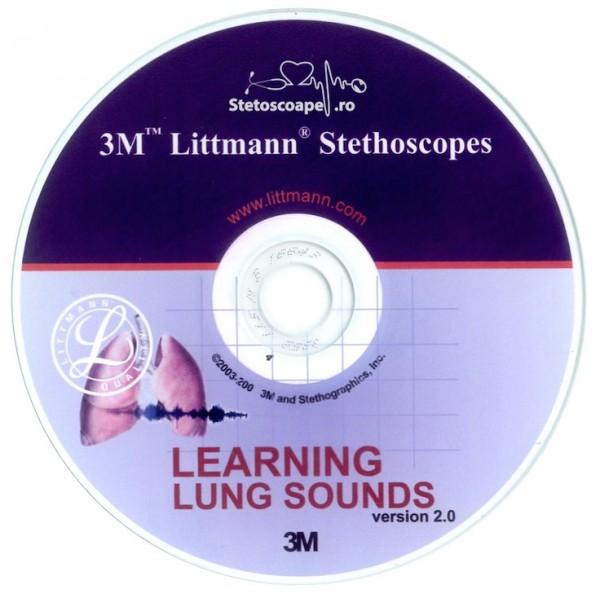 CD 3M Littmann - Sunetele plamanilor