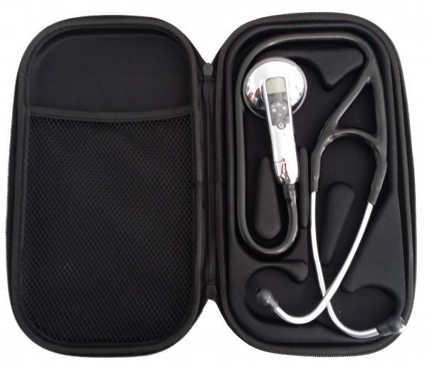 Stetoscop 3M Littmann Electronic 3100 Negru + 2 Cd-uri educationale