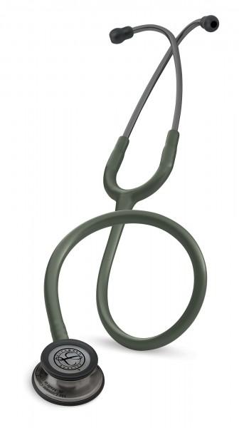 Stetoscop 3M Littmann Classic III Masliniu Inchis capsula fumurie 5812 + 2 Cd-uri educationale
