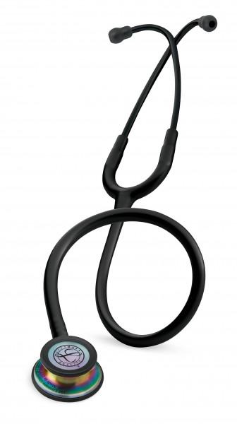 Stetoscop 3M Littmann Classic III Negru ,capsula curcubeu 5870 + 2 Cd-uri educationale