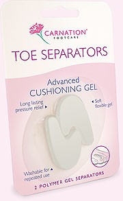 Despartitor degete de la picioare Carnation Footcare