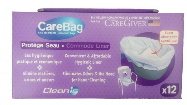 Saci de unica folosinta pentru scaune de toaleta CareBag Ortomobil
