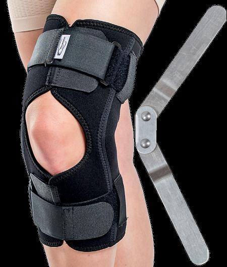 Orteza de genunchi mobila cu inchidere anterioara si articulatii mobile Triagen SRT319