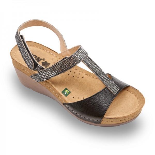 Sandale Leon 1061 de Dama – Negru