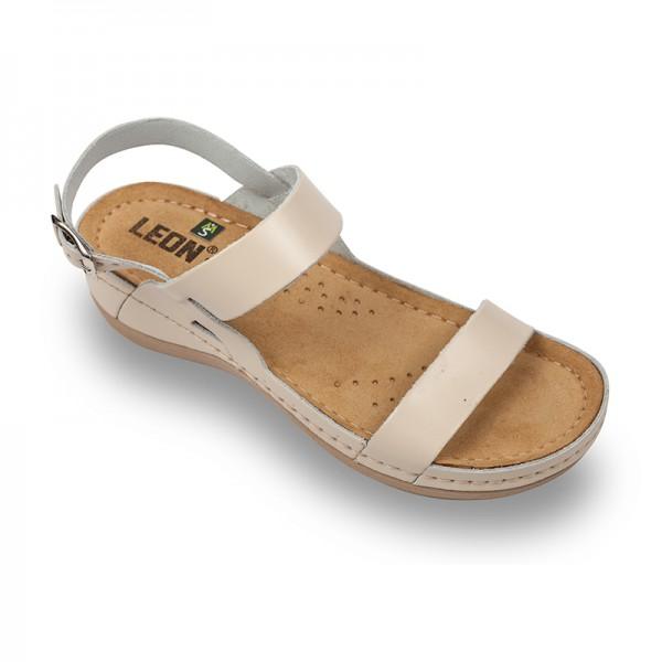 Sandale ortopedice pentru dame Leon 920 Bej