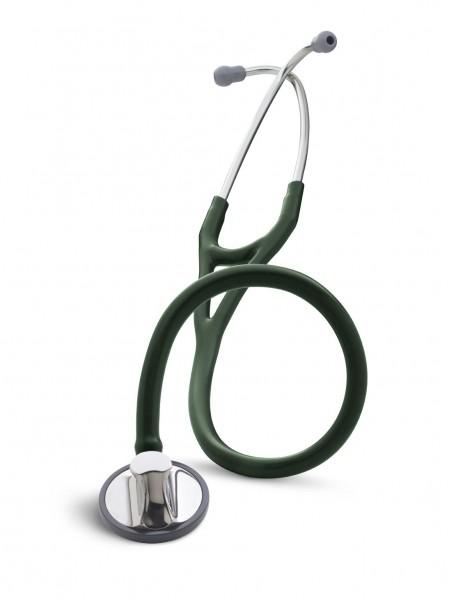 Stetoscop 3M Littmann Master Cardiology Verde Inchis 2165 + 2 Cd-uri educationale