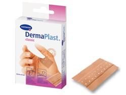 Plasture sub forma de banda, pe suport textil DERMAPLAST classic 6 x 10 cm