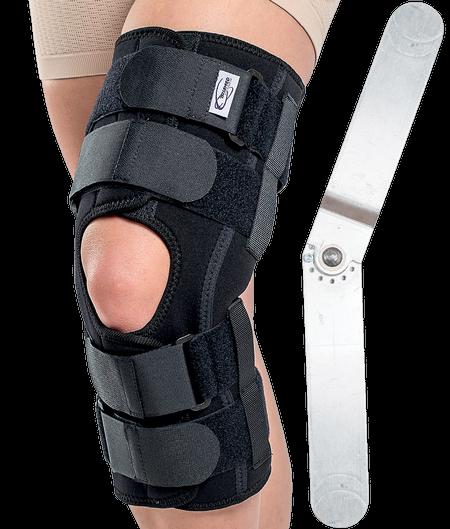 Orteza de genunchi mobila cu articulatii reglabile SRT309