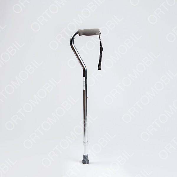 Baston din aluminiu cu maner curb Ortomobil 012300