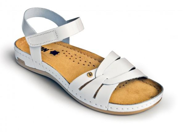 Sandale ortopedice pentru dame Leon 961 Alb