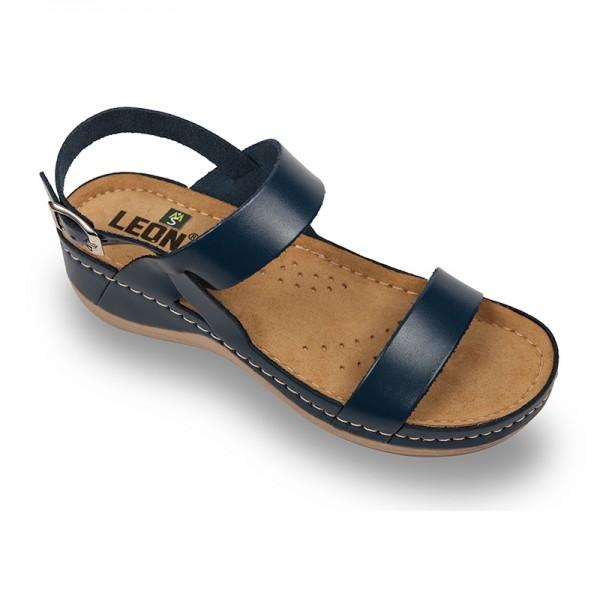 Sandale ortopedice pentru dame Leon 920 Albastru