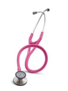Stetoscop 3M Littmann Cardiology III Roz trandafiriu 3164 + 2 Cd-uri educationale