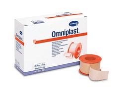 Plasture pentru fixare pe suport textil OMNIPLAST 1,25 cm x 5 m