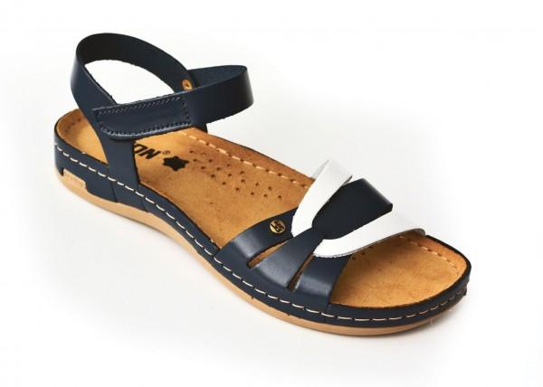 Sandale ortopedice pentru dame Leon 961 Albastru