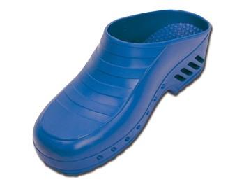 Saboti medicali GIMA CLOGS - fără pori - 34-48 - albastru electric