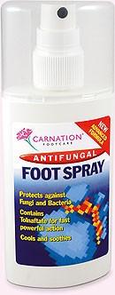Spray antifungal pentru picioare Carnation Footcare