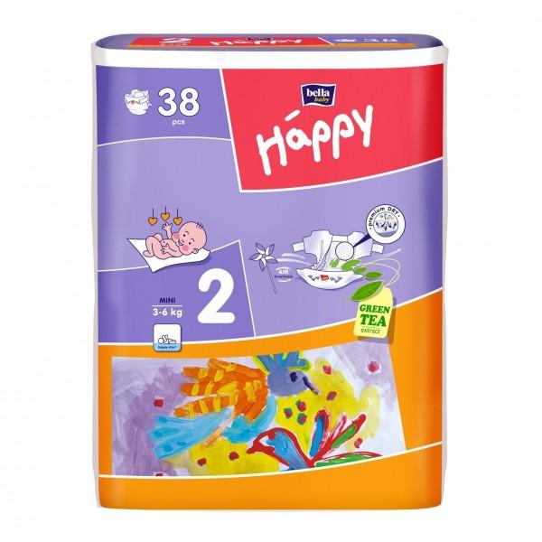 Scutece copii Happy 21 - 38 buc