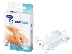Plasture rezistent la apa pe suport transparent DERMAPLAST aqua stripuri (3 marimi)