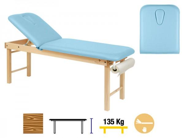 Masa fixa lemn cu inaltime fixa si picioare detasabile 188 x 62 cm